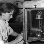 Laboratorium,ul.Ks.Machy - pokoj wagowy,rok 1958