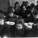Lekcja w budynku przy ul.Dzierzynskiego-rok 1958